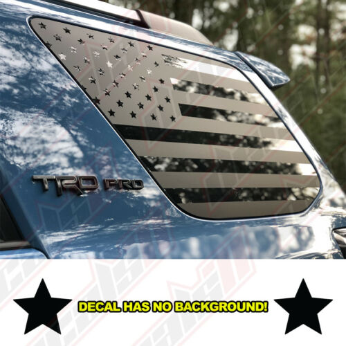 American Flag Decals For Toyota 4Runner TRD PRO Vinyl Decal Fits 2010-2018