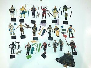 18  GI JOE  COBRA   Action Figure Lot Vintage Hasbro 80's --2003