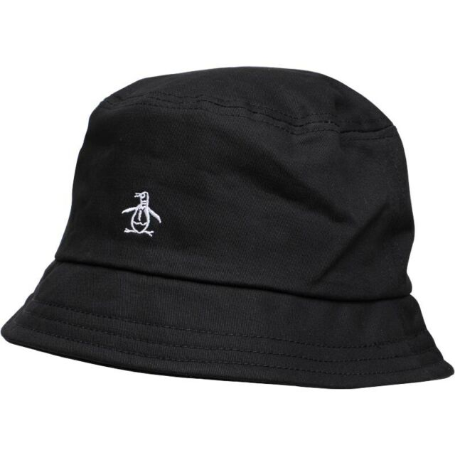 a72a26008 NEW - Original Penguin Mens Bucket Hat Black - One Size