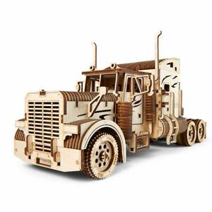 Ugears-heavy-nino-Camion-VM-03-Mecanico-de-madera-Modelo-Kit-70056
