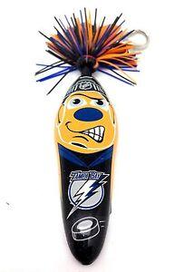 NHL Tampa Bay Lightning Kooky Klicker Kollectible Pen Key Clip Authentic Serie 1