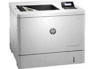 HP-Colour-LaserJet-Enterprise-M553dn-Laser-Network-Printer-B5L25A-Low-Page-count