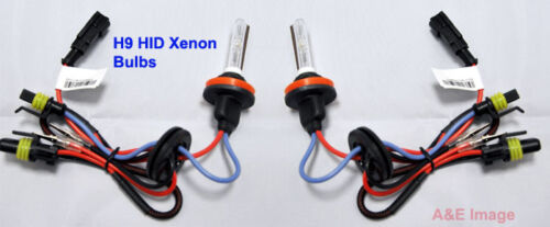 H9 6000K 35W HID Xenon Replacement 2 Bulb for Headlight lamps Light Blue White