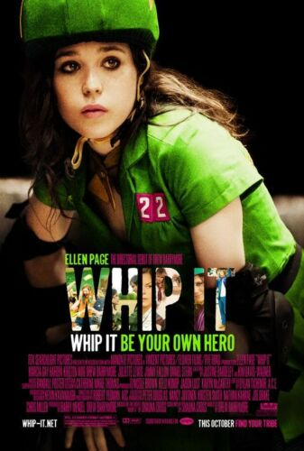 Whip It Orig Movie Poster Single Sided 27x40