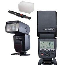Yongnuo YN-568EX II Speedlite Flash TTL for Canon Camera w/ Diffuser & Lens Pen