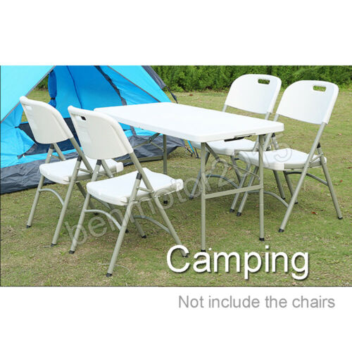 Portable Adjustable Folding Table for Camping Outdoor Picnic Party BBQ Meeting