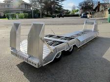 Aluminum Ramp Flat Deck Trailer Tamiya R/C 1/14 Semi King Grand Hauler Cascadia