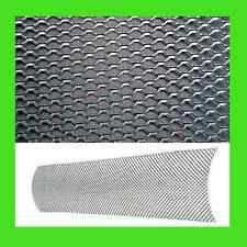 "NEW - UNIVERSAL ALUMINUM CAR MESH GRILL KIT 6x36"" SILVER body bumper grille"