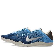Nike KOBE XI 11 Elite Low Eric Avar Size 9. 822675-404 Brave Blue Bhm FTB Shark