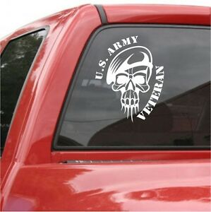 New Orleans Saints Skull Vinyl Car Truck Van Decal Window Sticker White