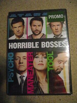 Horrible Bosses 2011 Dvd New Jason Bateman Jason Sudeikis Charlie Day Foxx Ebay
