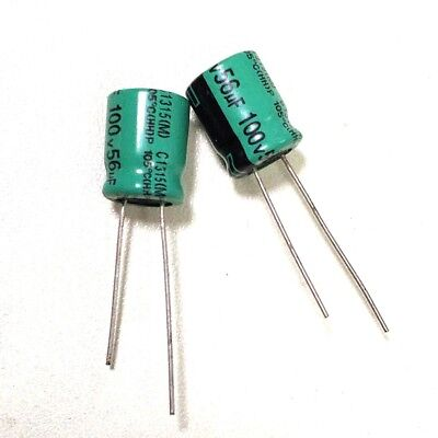 20PCS 50V 150uF 50Volt 150MFD Electrolytic Capacitor 10×13