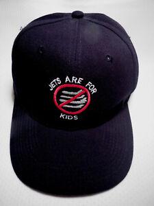 VINTAGE-AVIATION-CAP-034-JETS-ARE-FOR-KIDS-034-ADJUSTABLE-SNAPBACK-CAP