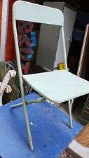 Meuble de Métier Bistrot Chaise Industrielle Pliante Métal 1950 Atelier Usine