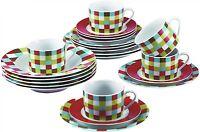 Renberg RB-80132 fine Porcelain 30 Piece Dinner sets Plates Bowls Cups Saucers