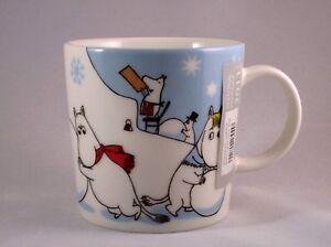 Arabia Moomin Mug Winter Games / Lumileikkejä *NEW