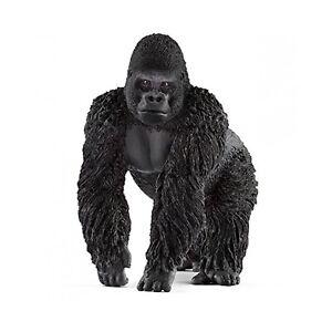Schleich-Gorilla-Male-Animal-Figure-NEW-IN-STOCK-Educational