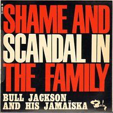 """BULL JACKSON (MOUSTACHE / BEN) """"SHAME AND SCANDAL"""" POP SKA JAZZ 60'S EP"""