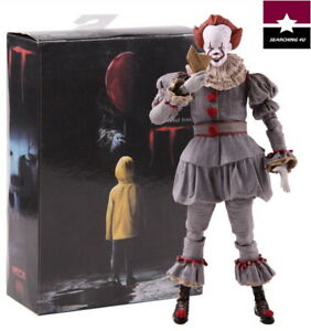 PELICULA-034-IT-034-PAYASO-PENNYWISE-STEPHEN-KING-S-COLECCIONABLE-19-5cm-PVC-TOY-NEW