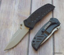 6.2 INCH OVERALL GERBER G-10 SWAGGER FRAME-LOCK FOLDING KNIFE WITH POCKET CLIP