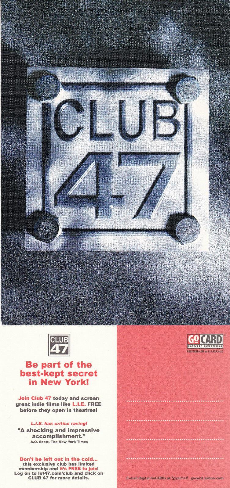 advertising postcard
