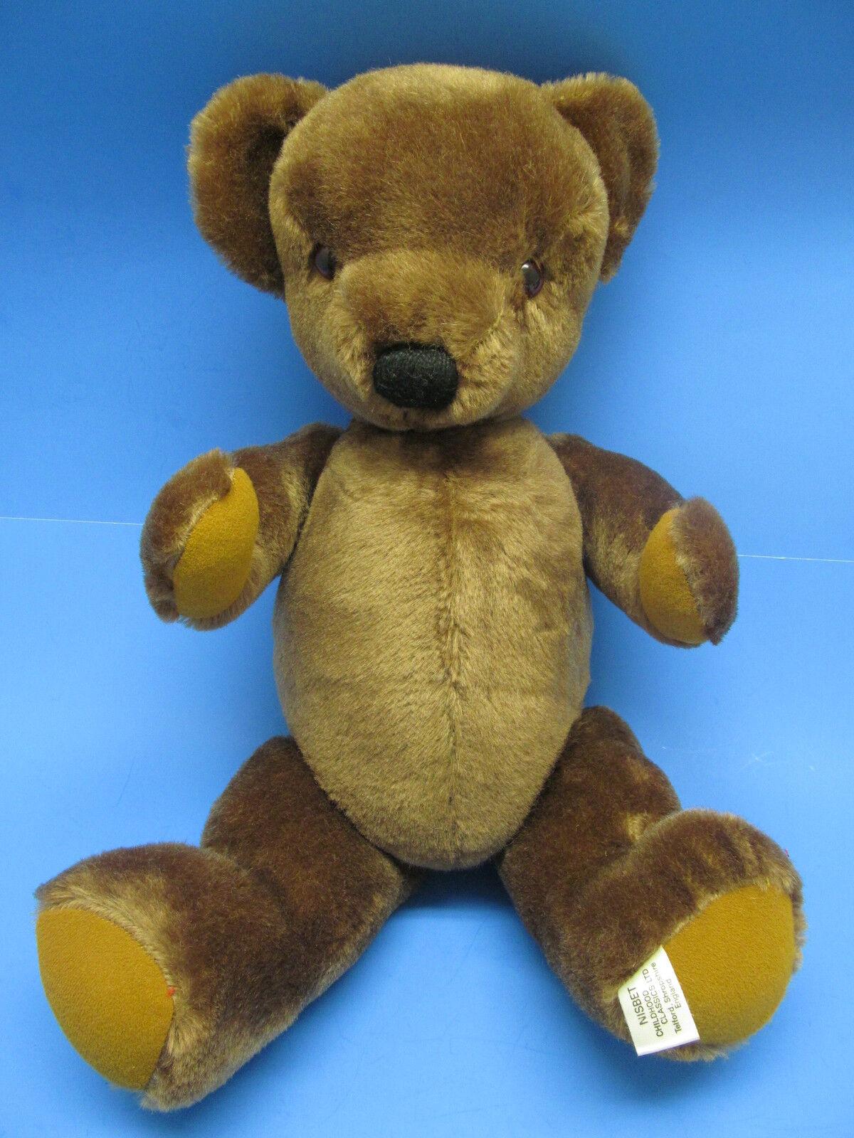 Vintage 20  Nisbet Classics England MOHAIR TEDDY BEAR