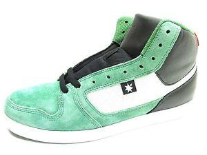 Details about DC Men's Shoes Landau HI Unrestricted Skate Shoes Green Black  All Sizes