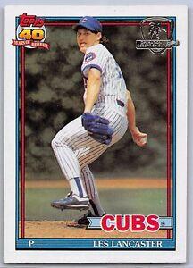 Details About 1991 Les Lancaster Topps Desert Shield Baseball Card 86 Chicago Cubs