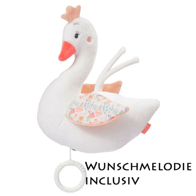 Happy Horse Plüsch Spieluhr Ente 22 cm Plüschtier Baby NEU