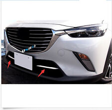 2015 2016  For Mazda CX-3 CX3 ABS Chrome Front Bottom Grille Grill Cover Trim