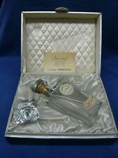 BACCARAT CRYSTAL DECANTER - J&F Martell CORDON BLEU COGNAC in Original BOX
