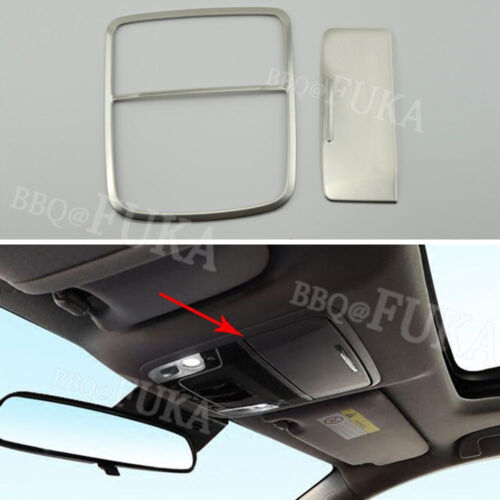 Glass Box Trim For Honda Accord 2018 Matte ABS Car Top Roof Reading Light Lamp