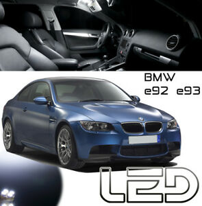 Kit-LED-BMW-E92-E93-12-Ampoules-Blanc-plafonnier-coffre-318-320-325-330-335-M