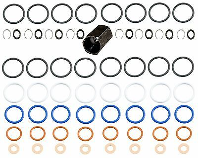 6.0L 03-10  Ford Power Stroke High-Pressure Oil Rail Ball Tube Seal Kit Tool