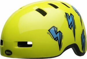 Bell-Lil-Ripper-Child-Kinder-Fahrrad-Helm-Gr-48-55cm-bolt-gelb-2020