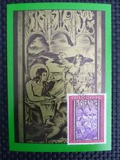 ANDORRA MK 1970 FRESCOES MAXIMUMKARTE CARTE MAXIMUM CARD MC CM c798