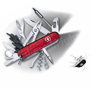 New Genuine Victorinox Swiss Army Knife Cybertool 34 Lite
