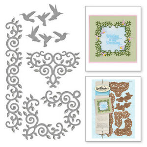 CUT EMBOSS STENCIL S5-124 SPELLBINDERS ASIAN MOTIFS DIE CUTTING SET