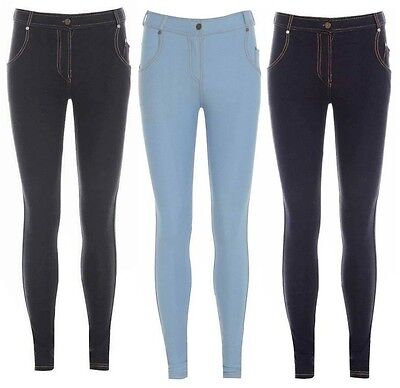 Diplomatisch New Ladies Womens Skinny Fit Coloured Stretchy Jeggings Trousers Jeans Size 8-16 Attraktive Designs;