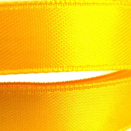 marrón colores de oro amarillo Calidad de doble cinta de raso por metros 1-3m