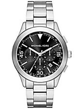 Michael Kors Men's Gareth Black Dial Chronograph Watch - MK8469