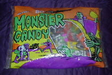 WORLD'S  MONSTER CANDY  SEALED BAG OF 80  VINTAGE  BROOKLYN USA