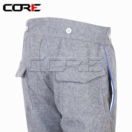 sky blue trim Civil War CS Infantry Wool Pants Civil War Uniform