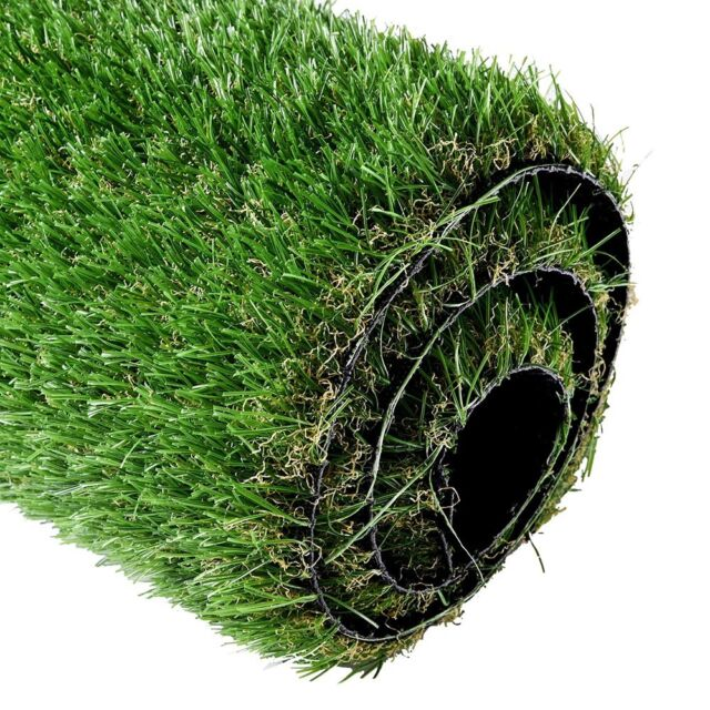 2 X3 3 Landscape Fake Grass Artificial Pet Turf Lawn Synthetic Mat Rug Green For Sale Online Ebay
