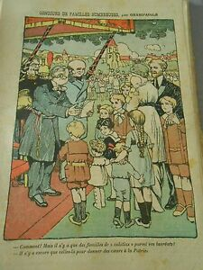 Concours-de-familles-nombreuses-que-des-familles-de-Calolins-Humour-Print-1914