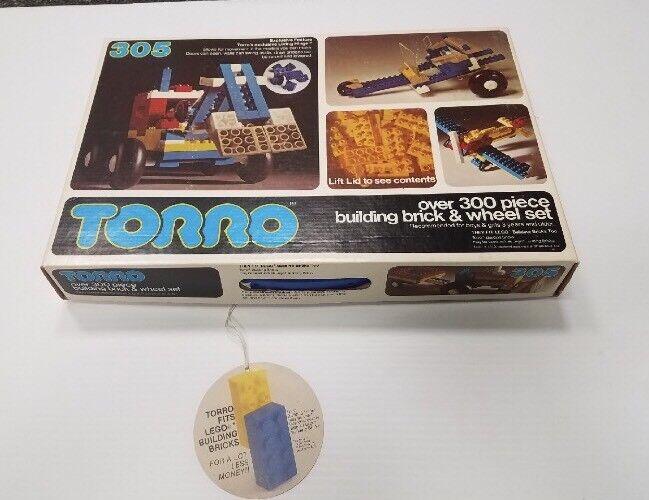 Vintage Torro edificio Ladrillos número 305 Juego Lego Nuevo En Caja