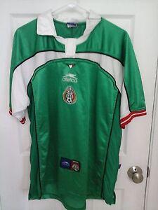 e304934e5 Image is loading Vintage-Atletica-Mexico-El-Tri-Futbol-Soccer-Jersey-
