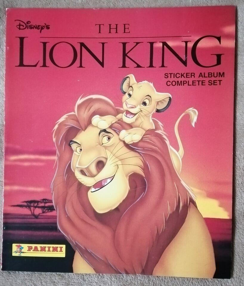 Klistermærker, Panini Disney The Lion King Stickeralbum
