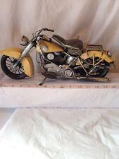 Motorcycle   handmade replica vintage metal model