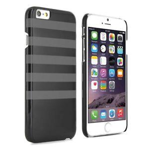 Proporta-Custodia-rigida-per-Apple-iPhone-6-6s-NERO-CON-RIGHE-GRIGIO